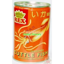 Rex Seasoned Cuttlefish With Spicy Sauce 170gm