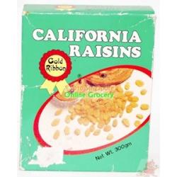 Gold Ribbon California Raisins 250gm