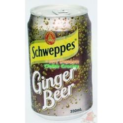 Schweppes Ginger Beer can