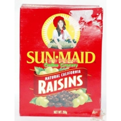 Sun Maid Natural California Raisins 250gm