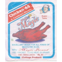Magic Chicken 65 and Tandoori Masala