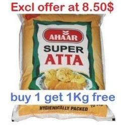 Ahaar Regular Atta 5kg