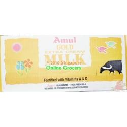 Amul Gold Extra Cream Milk Carton