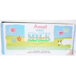 Amul Taaza Milk Carton